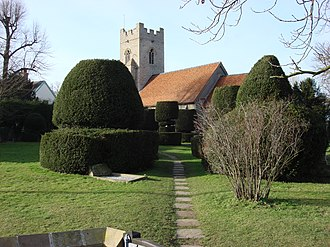 Borley - Image: Parish church of Borley Essex