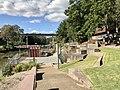 Parklands and David Trumpy Bridge over Bremer River, Ipswich, Queensland.jpg