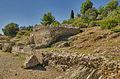 Particolare Monumenti funerari della via Julia Augusta (2).jpg