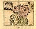 Partie septentr, le du royaume d'Irlande, ou sont la province d'Ulster, et partie des prov.ces (sic) de Leinster, et Connaugh. LOC 99446221.jpg
