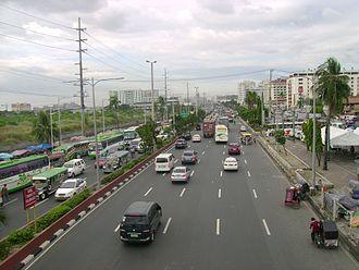 Roxas Boulevard - Roxas Boulevard facing north from Baclaran area, Pasay.