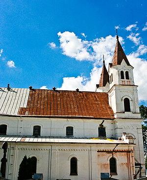 Pasvalys - Image: Pasvalys Church