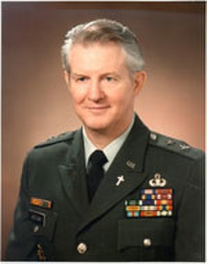 Patrick J. Hessian - Major General Patrick John Hessian 16th Chief of Chaplains of the United States Army