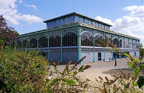 Victor baltard wikipedia - Pavillon baltard halles ...