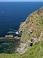Peel to Glenmaye coastal path at Ellan ny Maughol. Isle of Man. - geograph.org.uk - 33006.jpg