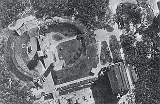 Test Stand VII - 23 June 1943 RAF reconnaissance photo of Test Stand VII