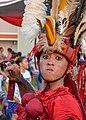 Penampil Tarian Kabasaran, Parade Manado Fiesta, 31 Agustus 2018.jpg