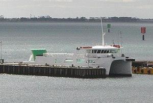 Peninsula Princess (Australia) - The ferry in 2008