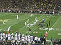 Penn State vs. Michigan football 2014 16 (Michigan on offense).jpg