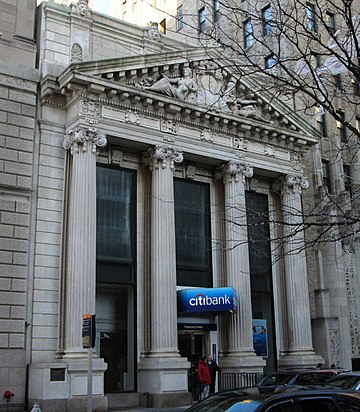 Citibank, The People's Trust Company Building, Brooklyn, New York City. People's Trust Company Building 183 Montague Street Brooklyn.jpg
