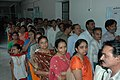 People are in a queue at a polling booth to cast their vote in Gujarat Assembly Election-2007, in Saurashtra on December 11, 2007.jpg