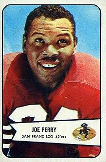 Joe Perry (American football) Player of American football