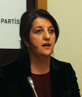 Pervin Buldan Turkish politician of Kurdish origin