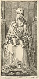 Peter van Lisebetten - Pala di San Cassiano Madonna and Child SVK-SNG.G 11965-6.jpg