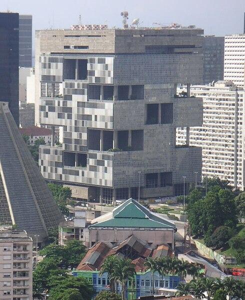 Trụ sở chính của Petrobras. Ảnh: Wikipedia