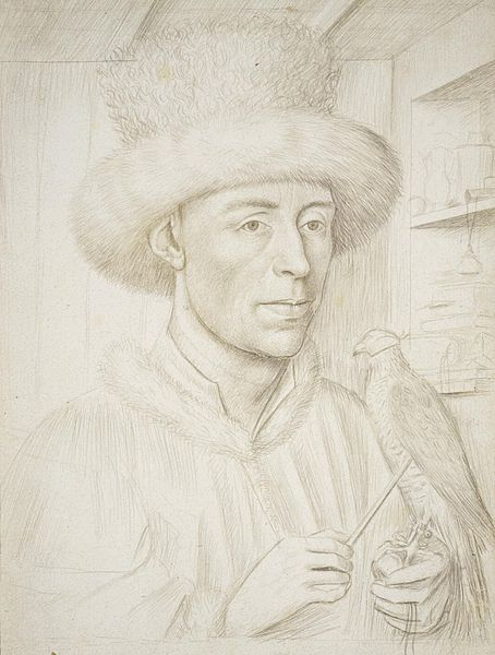 File:Petrus Christus - Portrait of a Man with a Falcon (Städel).jpg