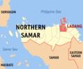 Ph locator northern samar laoang.png