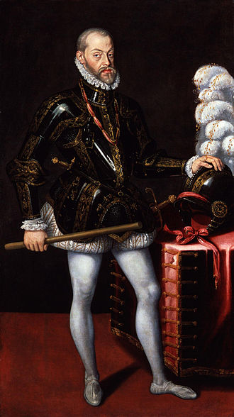 Philip II of Spain c. 1580, National Portrait Gallery, London Philip II, King of Spain from NPG.jpg