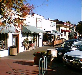 Cotati, California - Cotati downtown scene