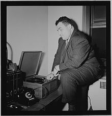 Photograph of Teddy Reig, in New York, ca 1946 – 1948.jpg