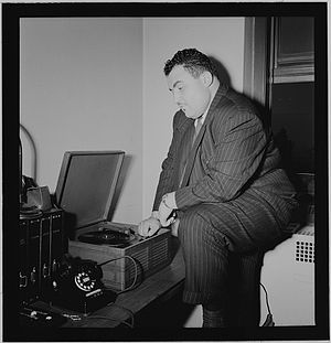 Teddy Reig - Image: Photograph of Teddy Reig, in New York, ca 1946 – 1948