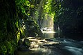 Photos of natural landscapes and tropical forests in Indonesia. view of the new alley waterfall in North Bengkulu. tourist destination for photographers or those who like to travel.jpg