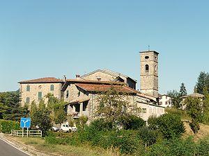 Piazza al Serchio - Image: Piazza al Serchio panorama
