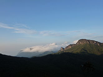 Amazonas (Brazilian state) - Pico da Neblina, Brazil's highest point, located at the northern end of the State.