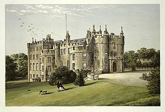 Richard Philipps, 1st Baron Milford (first creation) - Engraving of Picton Castle, the seat of Lord Milford.