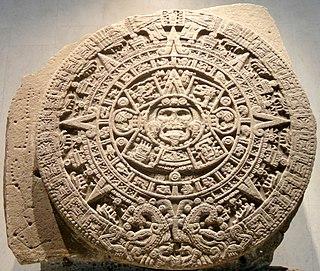 Aztec sun stone 16th century Mexica sculpture