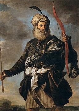 Pier Francesco Mola - Oriental Warrior - WGA16087