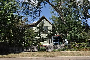 National Register of Historic Places listings in Hughes County, South Dakota - Image: Pierre SD Blackburn House