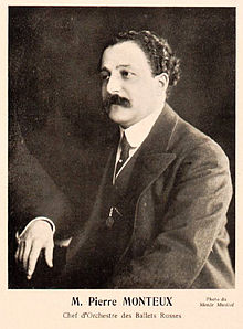 Description de l'image  Pierre Monteux, Conductor of the Ballets Russes (c1911-1914) - Gallica.jpg.