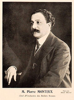 Pierre Monteux French music conductor (1875–1964)