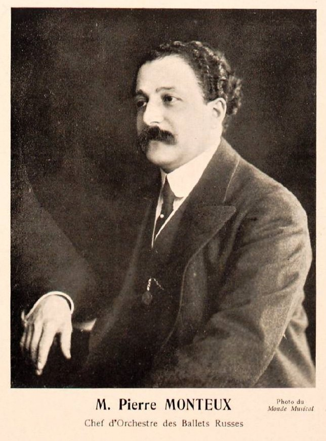 Pierre Monteux, Conductor of the Ballets Russes (c1911-1914) - Gallica