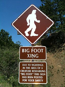 Pikes peak highway bigfoot