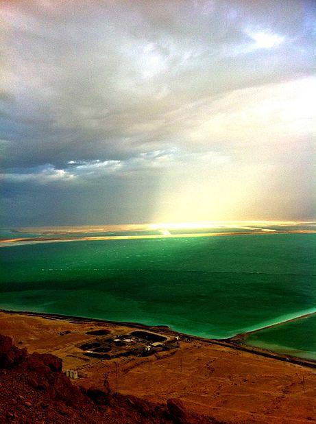 צוק תמרור ים המלח
