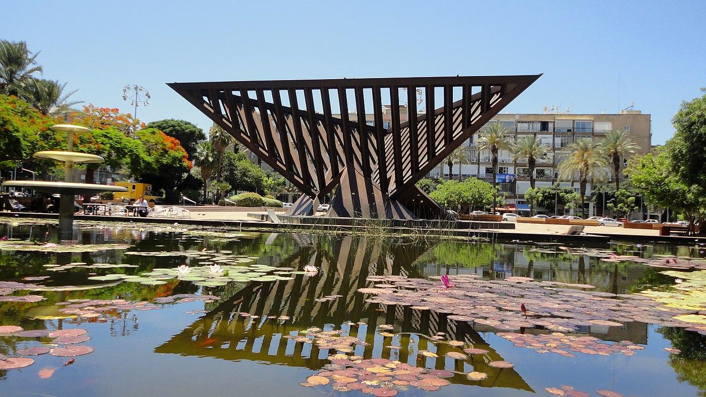 Monument to the Holocaust, Tel Aviv