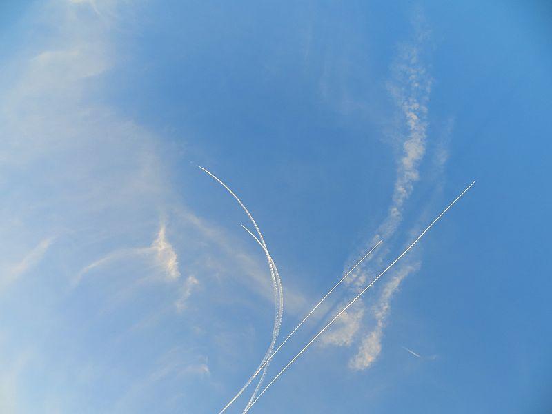 שקיעות ומטוסים ברמת הגולן