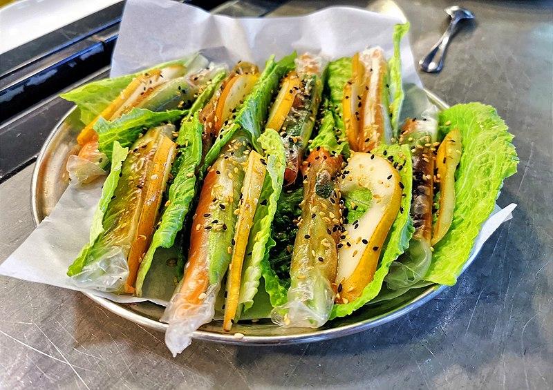 סנדביץ ירקות ירוקים