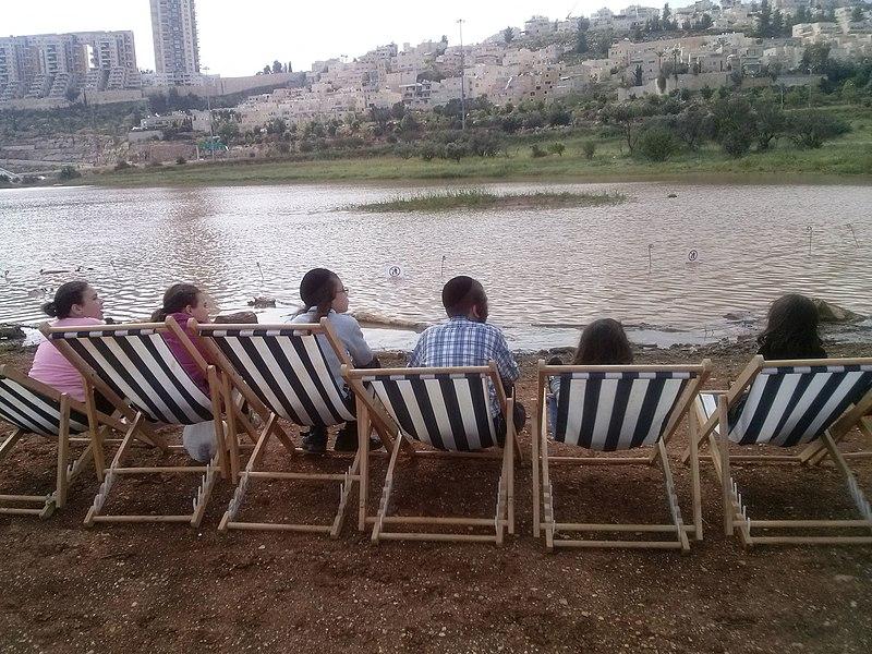 עמק הצבאים מבט אל מתחם הולילנד ירושלים