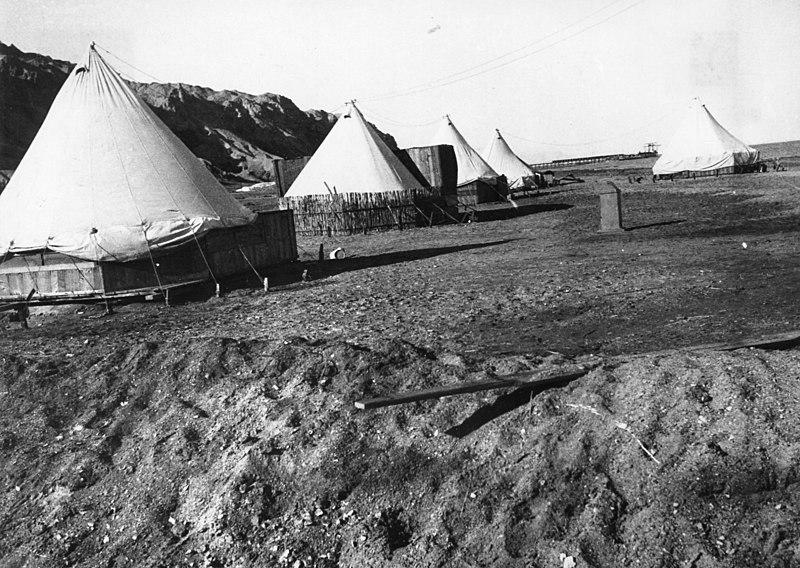אוהלי מגורים בסדום