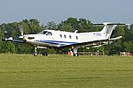 Pilatus PC-12 47E 'M-DRIL' (34086736746).jpg