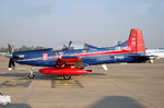 Pilatus PC-7 Mk II of Indian Air Force en route to Dundigal AFA, Hyderabad.PNG