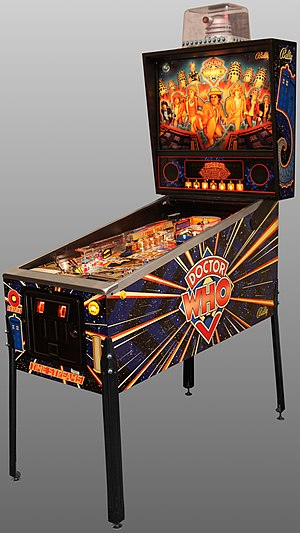 Doctor Who (pinball) - Image: Pinball Doctor Who Oblique