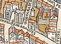 Plan de Paris vers 1550 porte du Chaume.jpg