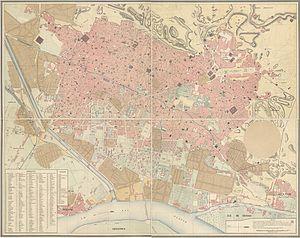 Plan général de la Ville du Caire