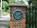 Plaque for St Dunstan's church - geograph.org.uk - 880880.jpg