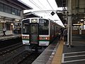 Platform of Shizuoka Station and train bounding for Atami Station.jpg