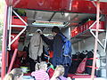 Plavení na Labi-Statické ukázky B10. Hasičské záchranné vozidlo, interiér 4.jpg